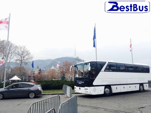 Bus charter service in Tbilisi
