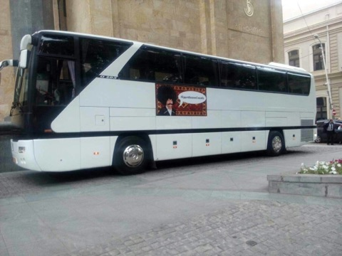 Rent a Bus in Tbilisi city